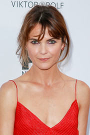 Keri Russell sported a messy updo at the FX and Vanity Fair Emmy celebration.