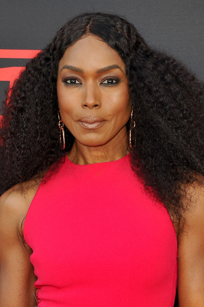 Angela Bassett's Voluminous Curls