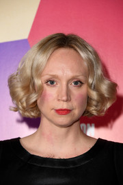 Gwendoline Christie looked adorable with her curled-out bob at the UK premiere of 'In Fabric.'