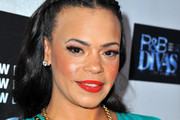 Faith Evans Long Braided Hairstyle