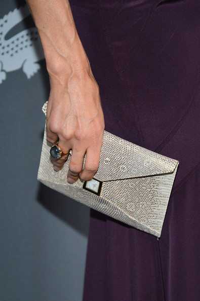 Famke Janssen Envelope Clutch