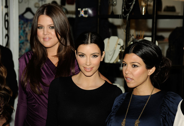 "Khloe, Kim, and Kourtney Kardashian's ""Kardashian Kollection"""