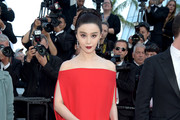 Fan Bingbing Off-the-Shoulder Dress