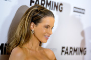 Kate Beckinsale looked so youthful and pretty wearing this half updo at the New York screening of 'Farming.'