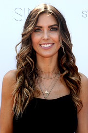Audrina Patridge showed off a perfectly sweet wavy hairstyle at the StyleWeekOC event.