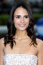 Jordana Brewster's long chocolate tresses looked super shiny and lovely in waves.