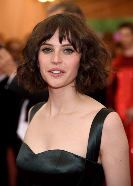 Felicity Jones Short Curls