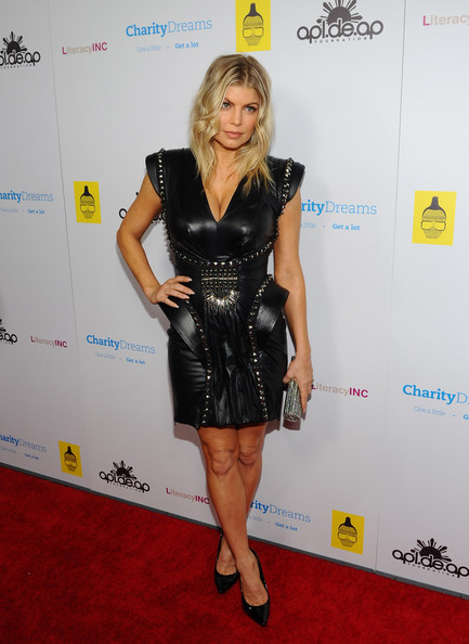 Fergie Leather Dress