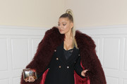 Fergie Fur Coat