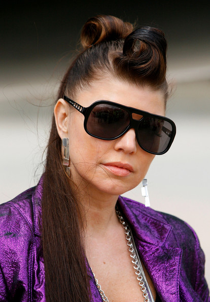 Fergie Designer Shield Sunglasses