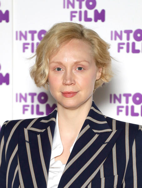 Gwendoline Christie attended the Into Film Awards wearing a casual short 'do and no makeup.