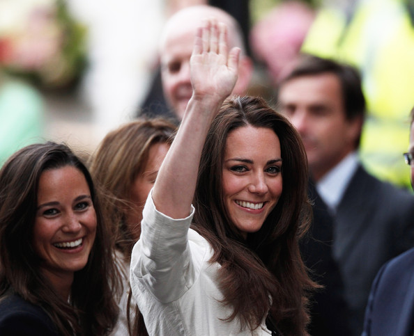 Kate+Middleton in Final Preparations Are Made Ahead Of The Royal Wedding