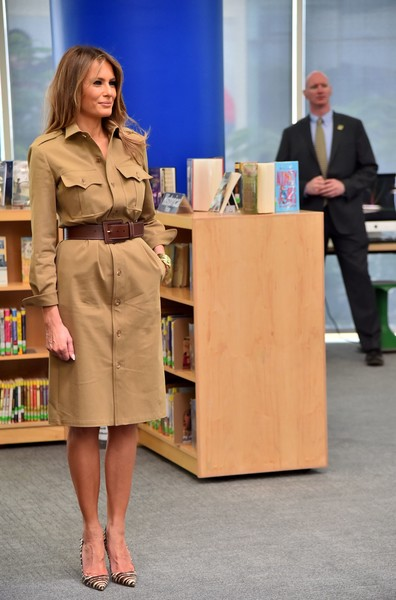 More Pics of Melania Trump Pumps (1 of 46) - Melania Trump Lookbook - StyleBistro