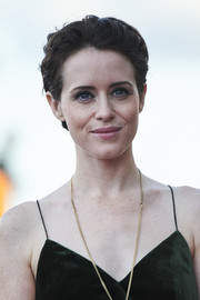 Claire Foy rocked a boy cut at the San Sebastian Film Festival premiere of 'First Man.'
