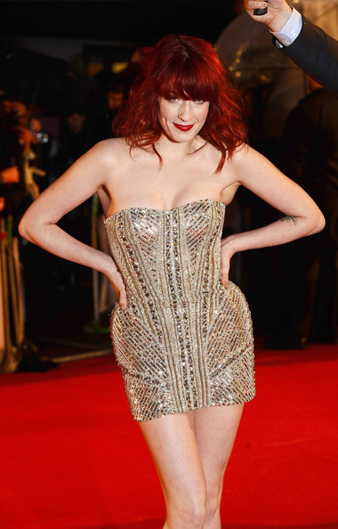 Florence Welch Beaded Dress