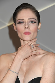 Coco Rocha wore a gelled short 'do at the Forevermark Tribute event.
