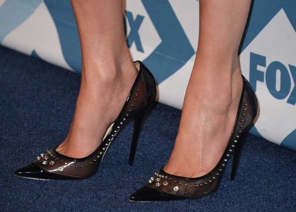 More Pics of Jennifer Lopez Evening Pumps (1 of 22) - Jennifer Lopez Lookbook - StyleBistro