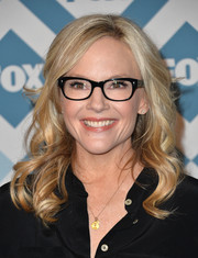 Rachael Harris looked fab with her spiral curls at the Fox All-Star party.