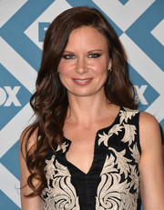 Mary Lynn Rajskub looked very ladylike with her long wavy 'do at the Fox All-Star party.