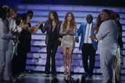 Jennifer Lopez and Steven Tyler Photo