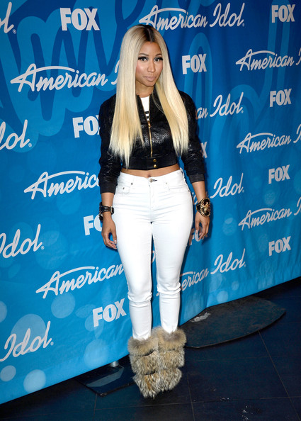 More Pics of Nicki Minaj Skinny Jeans (1 of 25) - Skinny Jeans Lookbook - StyleBistro