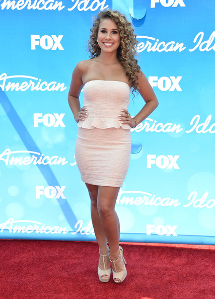 More Pics of Haley Reinhart Strapless Dress (1 of 6) - Haley Reinhart Lookbook - StyleBistro
