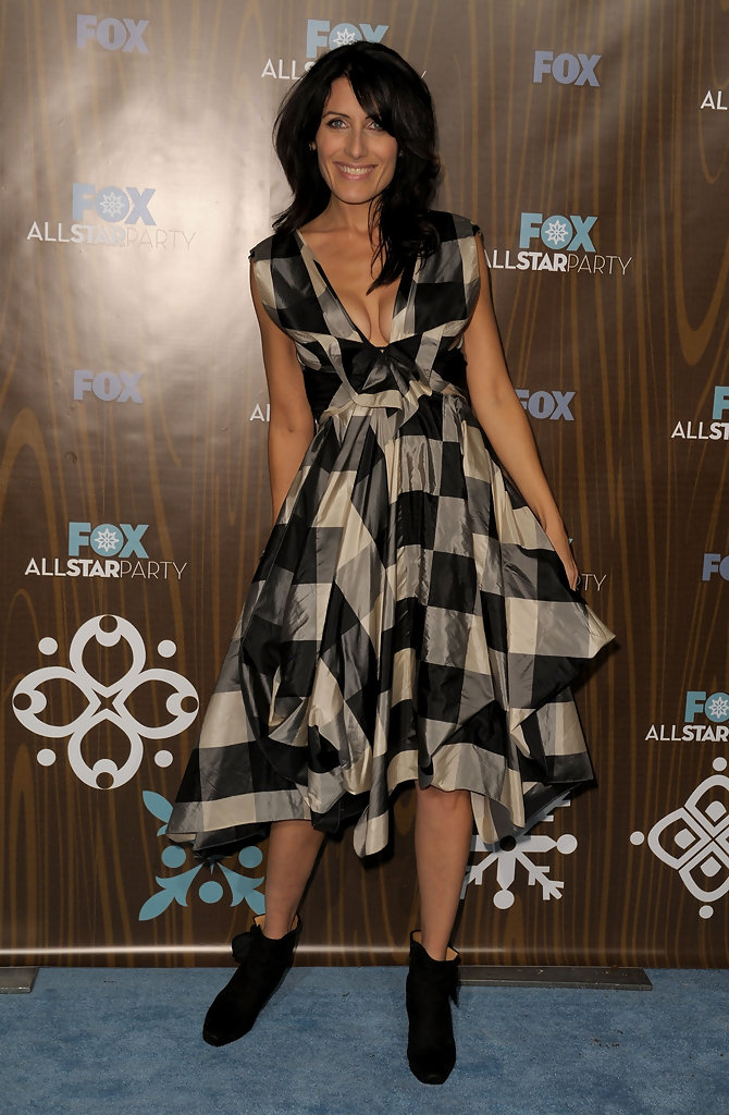 lisa edelstein best and worst dressed at the fox winter
