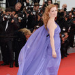 Jessica Chastain in Elie Saab at the 2014 Cannes Film Festival