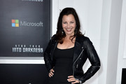 Fran Drescher Leather Jacket