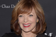 Frances Fisher Medium Wavy Cut with Bangs