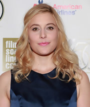 Greta Gerwig looked oh-so-sweet at the 'Frances Ha' gala presentation with her pink lipstick and pretty curls.