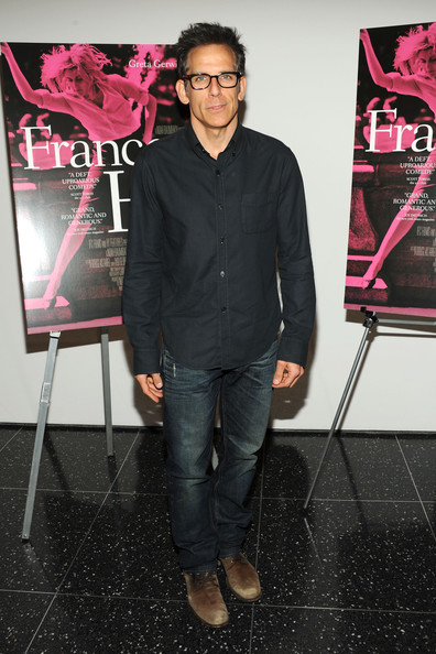 Ben chose a pair of classic jeans for his look at the 'Frances Ha' premiere in NYC.