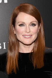 Julianne Moore wore a simple yet stylish side-parted 'do at the New York premiere of 'Freeheld.'