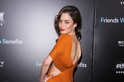 Model Nicole Trunfio attends the