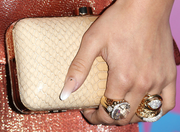 More Pics of Zendaya Coleman Statement Ring (1 of 4) - Decorative Rings Lookbook - StyleBistro [zendaya,arrivals,nail,finger,skin,hand,footwear,fashion accessory,ring,joint,leg,material property,friends n family 17th annual pre-grammy party,los angeles,california,park plaza hotel]
