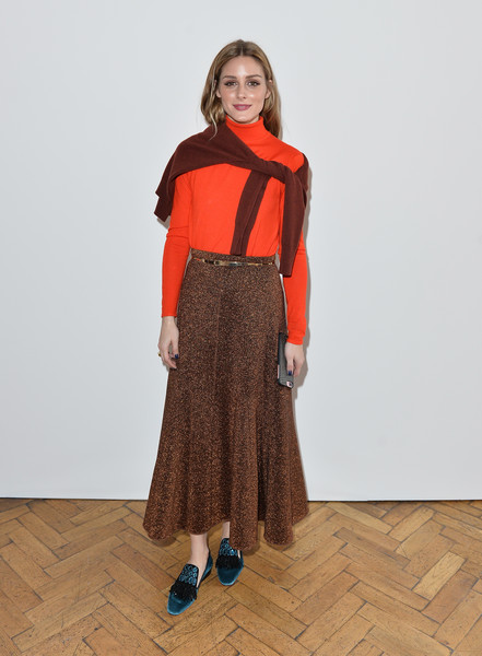 Olivia Palermo at Pringle of Scotland
