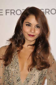 Vanessa rocked flowing, glamorous waves on the red carpet.
