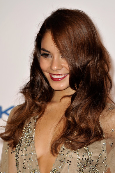 More Pics of Vanessa Hudgens Long Wavy Cut (1 of 28) - Vanessa Hudgens Lookbook - StyleBistro