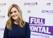 Samantha Bee got dolled up with this wavy hairstyle for the 'Full Frontal' FYC event.