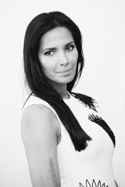 Padma Lakshmi opted for a fuss-free straight 'do when she attended the Not the White House Correspondents' Dinner.