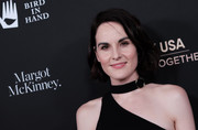 Michelle Dockery wore her hair in a cute bob at the 2020 G'Day USA Gala.