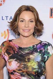 LuAnn de Lesseps wore her short layered style with a flirty flick through the ends.