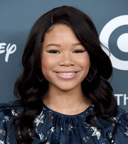 Storm Reid looked darling with her long curly 'do at the GLSEN Respect Awards.