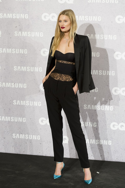 More Pics of Toni Garrn Pantsuit (1 of 7) - Suits Lookbook - StyleBistro
