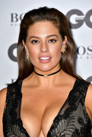 Ashley Graham attended the GQ Men of the Year Awards wearing a brushed-back 'do.