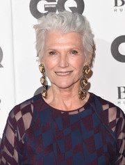 Maye Musk attended the 2018 GQ Men of the Year Awards rocking a tousled short 'do.
