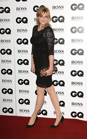 Sophie Dahl looked demure and elegant in this little black lace dress at the GQ Men of the Year Awards.