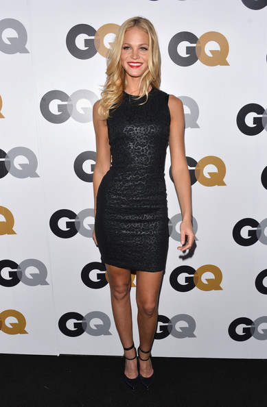 More Pics of Erin Heatherton Long Wavy Cut (2 of 9) - Erin Heatherton Lookbook - StyleBistro