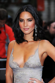 Olivia Munn looked positively radiant at the GQ Men of the Year Awards with flushed cheeks and a glowing complexion.