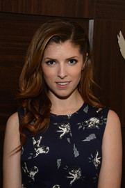 Anna Kendrick attended the Voices party wearing her hair in soft, pretty waves.